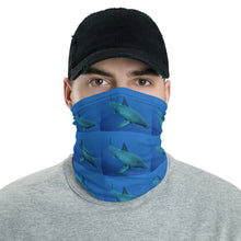 Load image into Gallery viewer, Neck Gaiter Face Mask Headband Bandana - Great White Shark