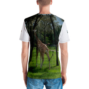 Premium T-shirt (2-sided) - Short Sleeve Unisex - Jeffrey the Giraffe Collection
