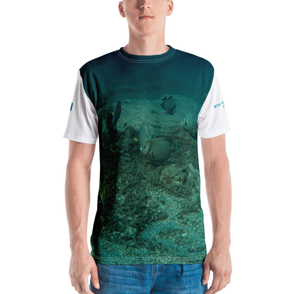 Premium T-shirt (2-sided) - Short Sleeve Unisex - Reef Fish Collection - Fish Gathering