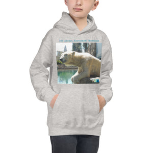 Kids Hoodie Sweatshirt - Arctic Polar Bear Collection