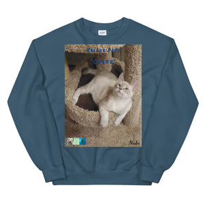 "Unisex Premium Sweatshirt - Rescue Pets Collection - ""Chena"""