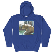 Load image into Gallery viewer, Kids Hoodie Sweatshirt - Arctic Polar Bear Collection