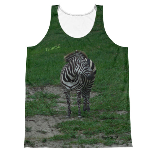 Unisex Tank Top (2-sided) - Zoey the Zebra Collection