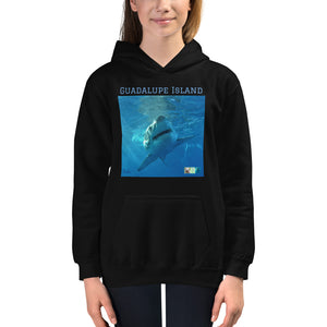 Kids Hoodie Sweatshirt - Surrounded by Sharks Collection