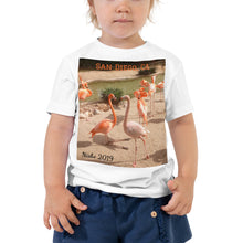 Load image into Gallery viewer, Toddler Short Sleeve Tee - Flamingo Friends Collection