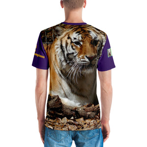 NCAA 2020 College Football LSU Tigers National Champions Premium Unisex T-shirt (2-sided)