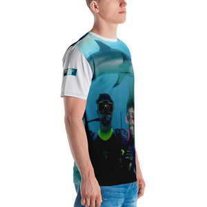 Premium T-shirt (2-sided) - Short Sleeve Unisex - Swimming With Sharks Collection III