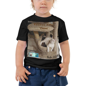 "Toddler Short Sleeve Tee - Rescue Pets Collection - ""Chena"""
