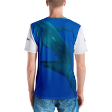 Load image into Gallery viewer, Premium T-shirt (2-sided) - Short Sleeve Unisex - Surrounded by Sharks Shark Shirt Collection