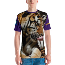 Load image into Gallery viewer, NCAA 2020 College Football LSU Tigers National Champions Premium Unisex T-shirt (2-sided)