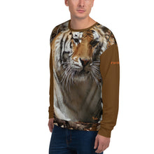 Load image into Gallery viewer, Unisex Premium Sweatshirt - 2-Sided All-over Print - Toby the Tiger Collection