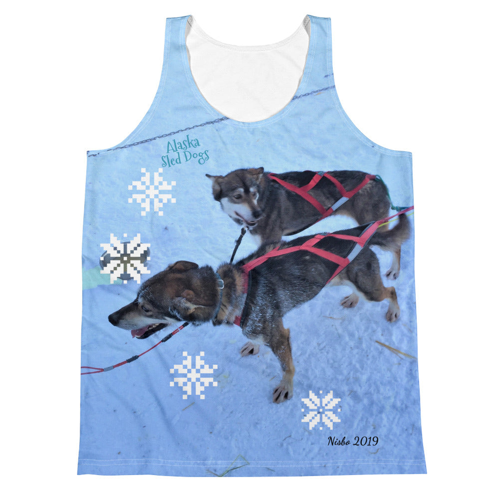 Unisex Tank Top (2-sided) - Alaska Sled Dogs Collection