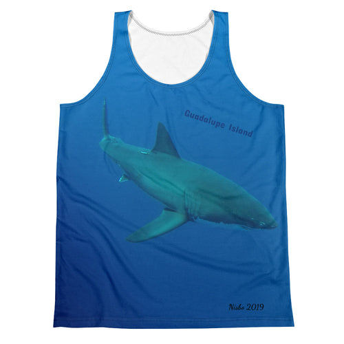 Unisex Tank Top (2-sided) - Candy the Great White Shark Shirt Collection