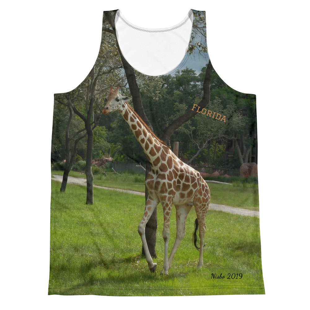 Unisex Tank Top (2-sided) - Jeffrey the Giraffe Collection