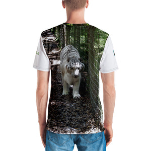 Premium T-shirt (2-sided) - Short Sleeve Unisex - Wally the White Tiger Collection