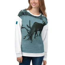 Load image into Gallery viewer, Unisex Premium Sweatshirt - 2-Sided All-over Print - Rudolph the Reindeer Collection