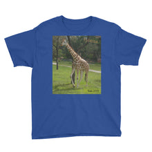 Load image into Gallery viewer, Youth/Kids' Short Sleeve T-Shirt - Jeffrey the Giraffe Collection