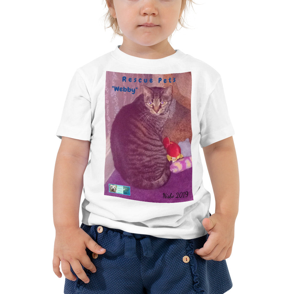 Toddler Short Sleeve Tee - Rescue Pets Collection -