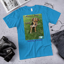 "Load image into Gallery viewer, Unisex Fine Jersey Short Sleeve T-Shirt - Rescue Pets Collection - ""Lucy"" IV"