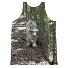 Load image into Gallery viewer, Unisex Tank Top (2-sided) - Wally the White Tiger Collection