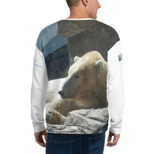 Load image into Gallery viewer, Unisex Premium Sweatshirt - 2-Sided All-over Print - Arctic Polar Bear Collection