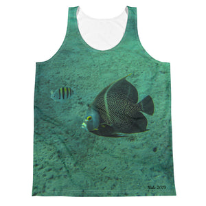 Unisex Tank Top (2-sided) - Reef Fish Collection - Angel