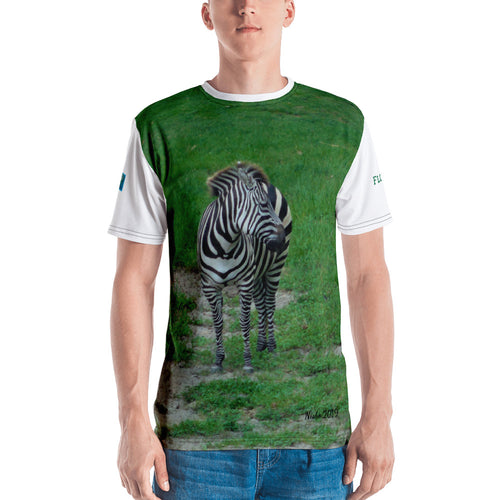Premium T-shirt (2-sided) - Short Sleeve Unisex - Zoey the Zebra Collection