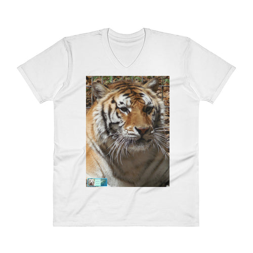 V-Neck T-Shirt - Unisex - Toby the Tiger Collection