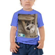 "Load image into Gallery viewer, Toddler Short Sleeve Tee - Rescue Pets Collection - ""Chena"""