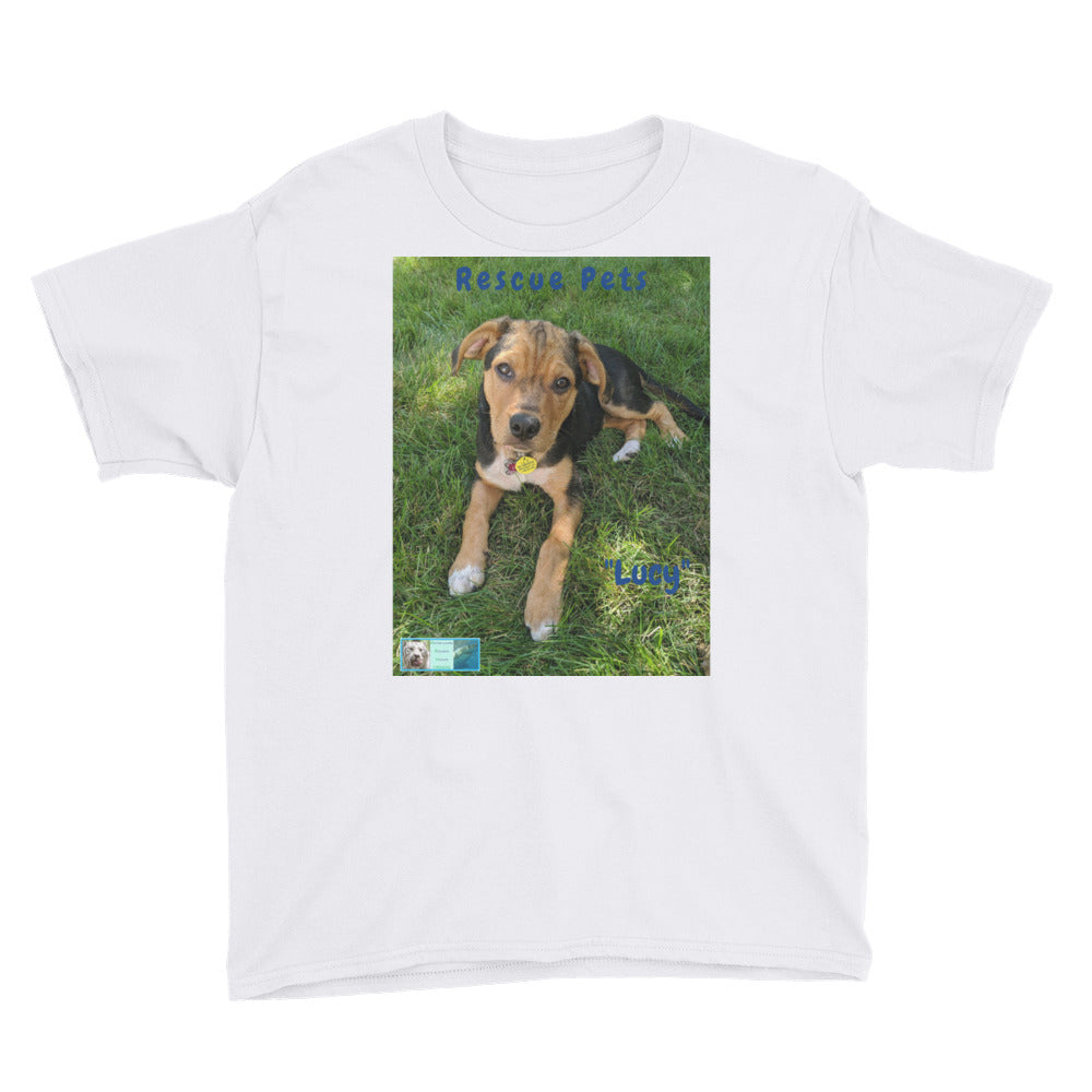 Youth/Kids' Short Sleeve T-Shirt - Rescue Pets Collection -