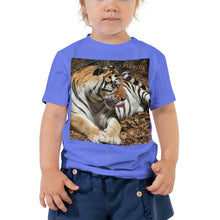 Load image into Gallery viewer, Toddler Short Sleeve Tee - Toby the Tiger Collection