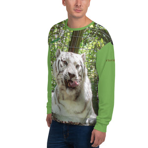 Unisex Premium Sweatshirt - 2-Sided All-over Print - Wally the White Tiger Collection