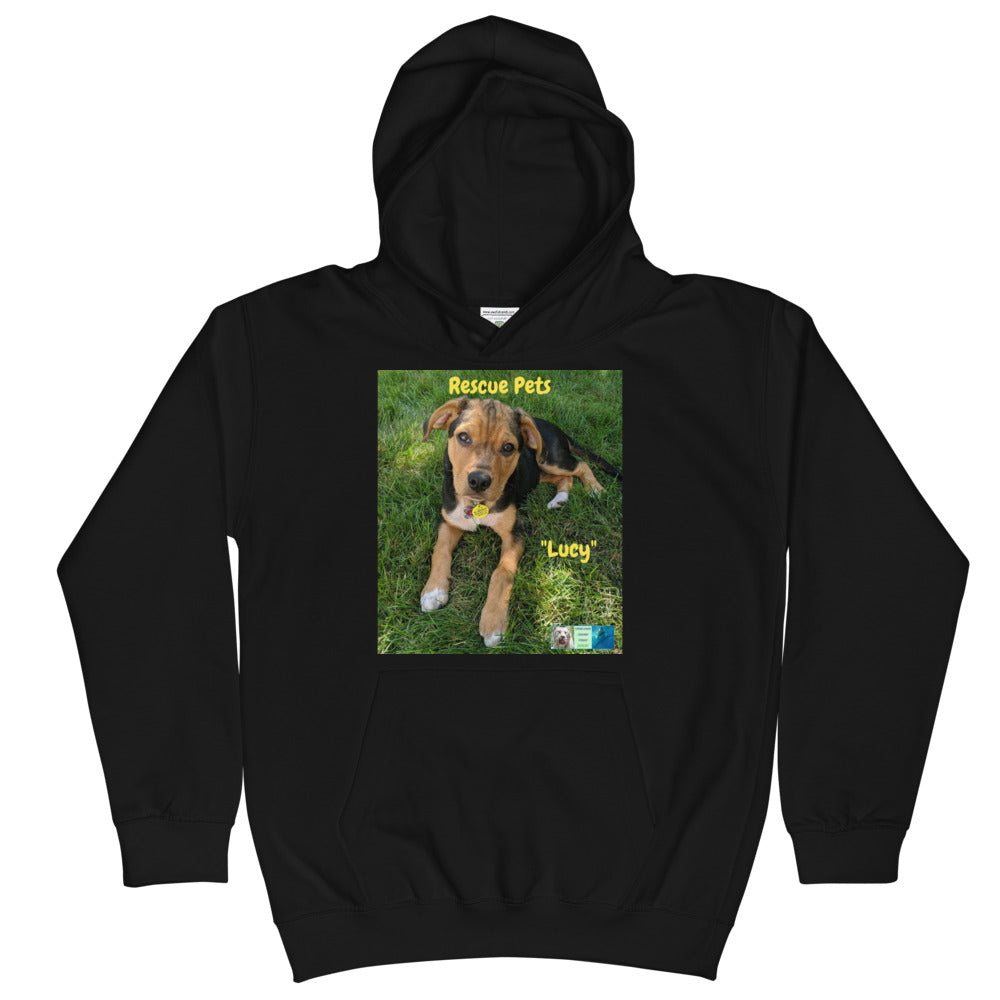 Kids Hoodie Sweatshirt - Rescue Pets Collection -