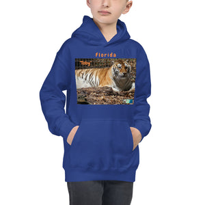 Kids Hoodie Sweatshirt - Toby the Tiger Collection