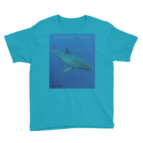 Youth/Kids' Short Sleeve T-Shirt - Candy the Great White Shark Collection