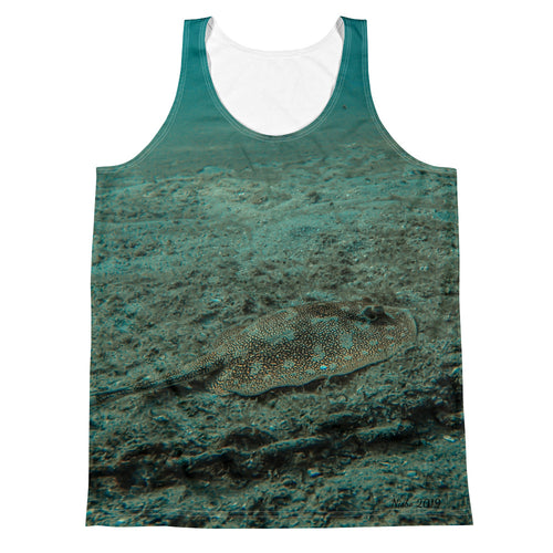 Unisex Tank Top (2-sided) - Reef Fish Collection - Stingray & Starfish
