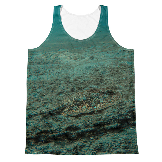 Unisex Tank Top (2-sided) - Reef Fish Collection - Stingray
