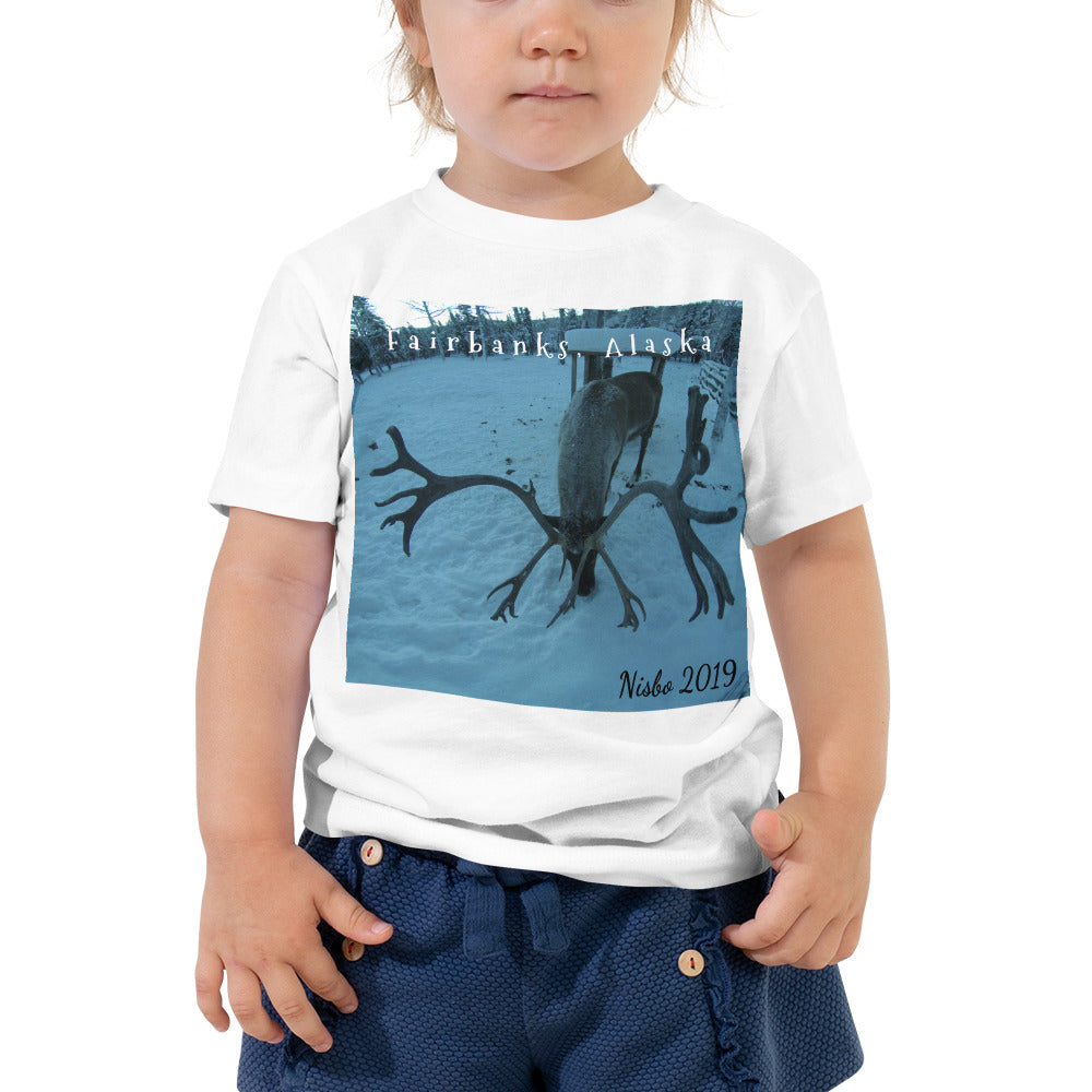Toddler Short Sleeve Tee - Rudolph the Reindeer Collection