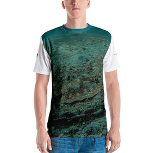 Premium T-shirt (2-sided) - Short Sleeve Unisex - Reef Fish Collection - Stingray