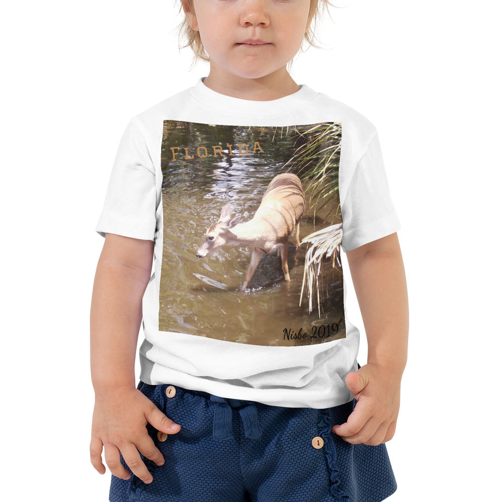 Toddler Short Sleeve Tee - Daisy the Deer Collection