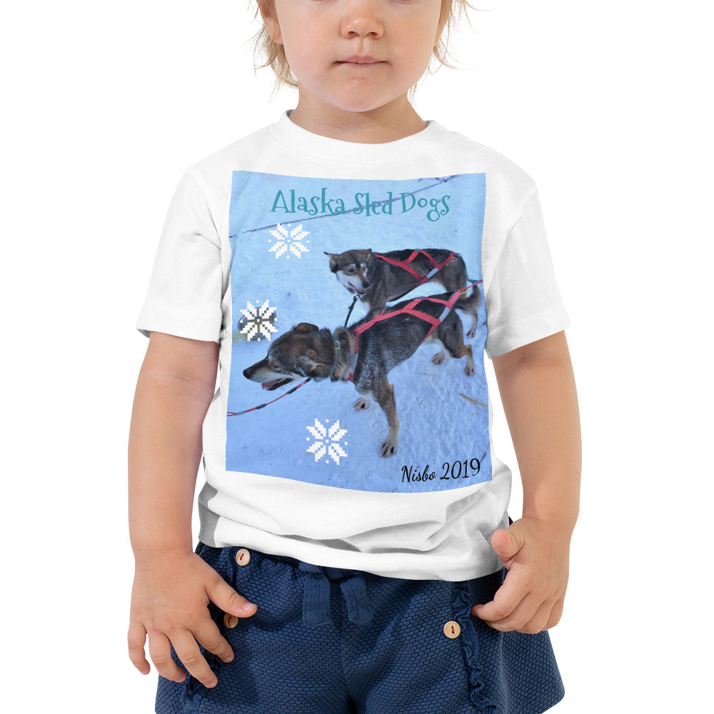 Toddler Short Sleeve Tee - Alaska Sled Dogs Collection