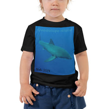 Load image into Gallery viewer, Toddler Short Sleeve Tee - Candy the Great White Shark Collection