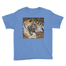 Load image into Gallery viewer, Youth/Kids' Short Sleeve T-Shirt - Toby the Tiger Collection