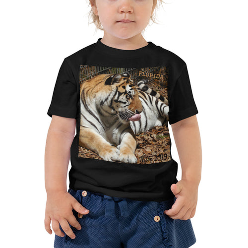 Toddler Short Sleeve Tee - Toby the Tiger Collection