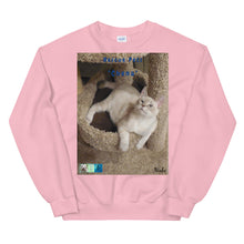 "Load image into Gallery viewer, Unisex Premium Sweatshirt - Rescue Pets Collection - ""Chena"""