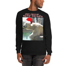 Load image into Gallery viewer, Christmas Polar Bear T-Shirt Long Sleeve Customizable Unisex
