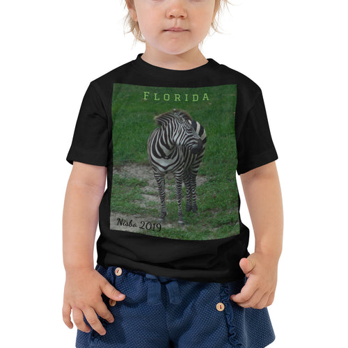 Toddler Short Sleeve Tee - Zoey the Zebra Collection