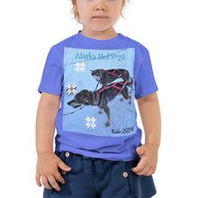 Load image into Gallery viewer, Toddler Short Sleeve Tee - Alaska Sled Dogs Collection