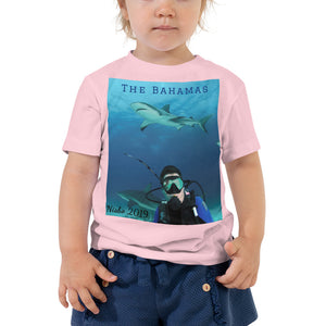 Toddler Short Sleeve Tee - Swimming With Sharks Collection