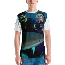 Load image into Gallery viewer, Premium T-shirt (2-sided) - Short Sleeve Unisex - Swimming With Sharks Collection II